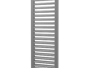 3D asset louver window persiana blind low poly