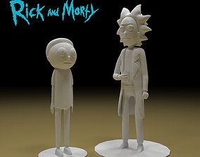 Rick and Morty 3d model 3dprinting