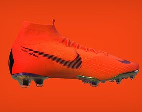 soccer 3D model Nike Mercurial