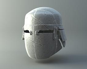 3D printable model Damaged Heavy helmet - Knights of Ren 4