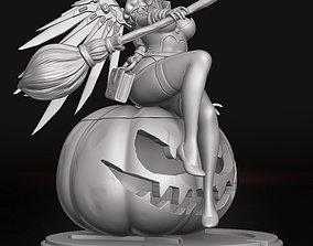 Witch Mercy - Overwatch 3D print model