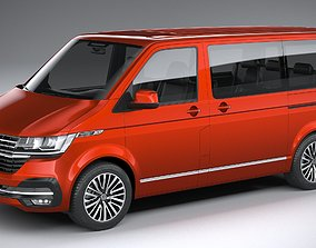 Volkswagen Transporter T6-1 Multivan 2020 3D model