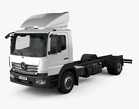 Mercedes-Benz Atego 1530 M-Cab Chassis Truck 2013 3D