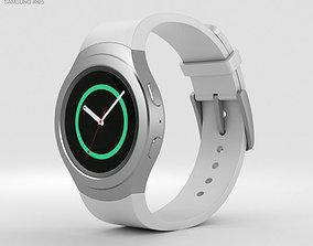 3D Samsung Gear S2 White