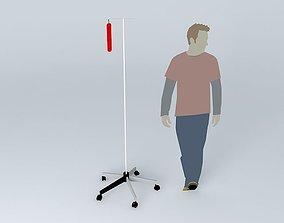 3D model Hospitalised Bryce
