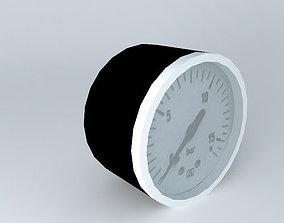 3D model Diameter 40 mm gauge G1 8