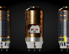 HTV Spacecraft 3D