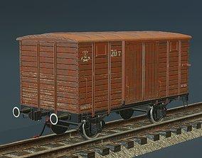 wagon covered NTV 3D model