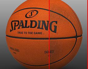 Basketball orange 3D model