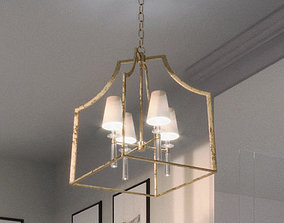 union lighting pendant latern 3D model