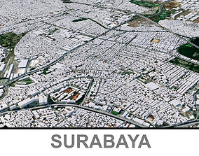 3D asset Surabaya City