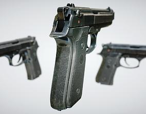 Beretta 92 3D model