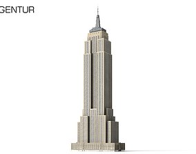 town Empire State Building 3D