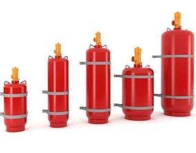 Chemical Tanks 3D model