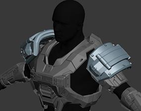 Reach Grenadier Shoulder Wearable 3D Print