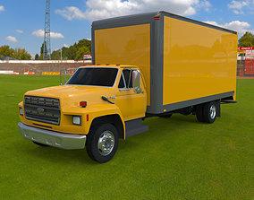 3D model Moving Truck 93