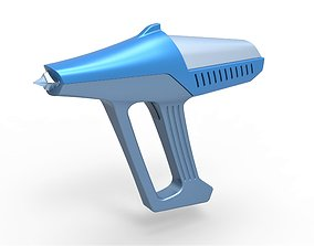 3D printable model Pistol of Traybors henchmen from Buck 4
