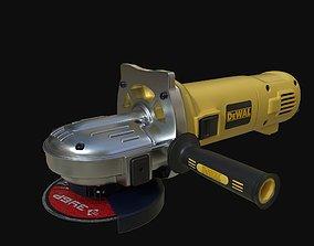 3D asset Angular grinding machine