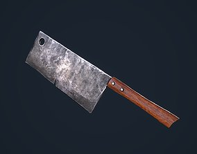 Cleaver 3D model VR / AR ready