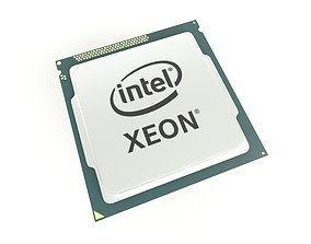 Intel CPU XEON 003 3D model