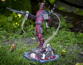 sculptures Deadpool 3D print model