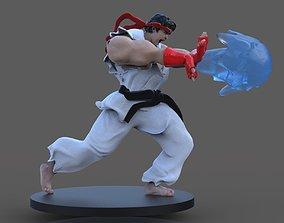 3D print model Ryu Sculpture