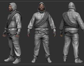 3D model Survivor High-Poly