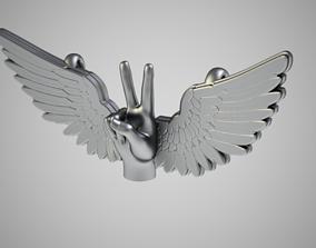 Peace Necklace 3D print model