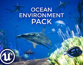 3D model Ocean Environment Pack - UE4