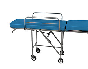 Stretcher 3d model industrial