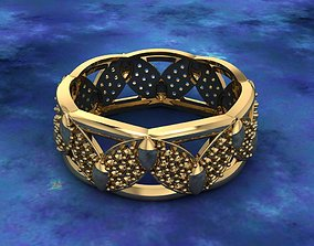 3D printable model Ring 20 gold