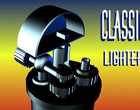 3D asset Low poly Classic lighter