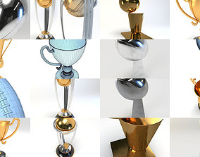 Sport CUPS pack 3D model