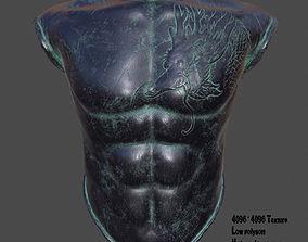 3D model armor 5