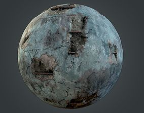 Painted Concrete Material 3D model