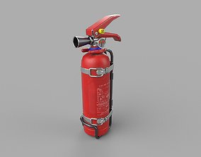 Fire Extinguisher PBR 3D model