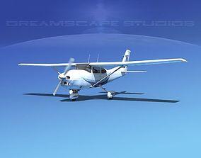 Cessna 182 Skylane V05 3D model