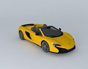 2015 McLaren 650S Spider 3D