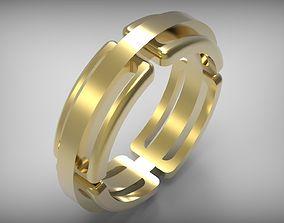 3D printable model ring is beautiful
