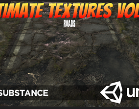3D asset Ultimate Texture Library 2 - Roads