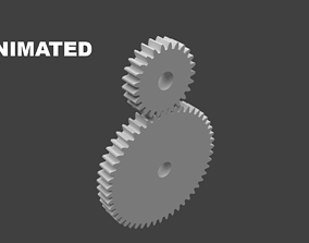 3D animated Gears