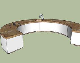 ROUND KITCHEN 3D model