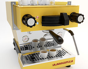 3D model La Marzocco coffee machine linea mini models