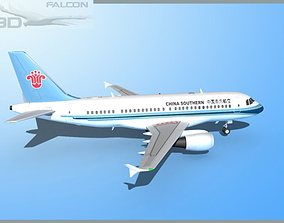 Falcon3D A319 China Southern rigged