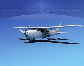 Cessna 210 Centurion Bare Metal 3D