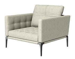 Volage armchair - Cassina 3D model
