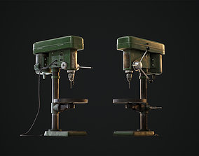 3D asset CHICAGO MACHINE TOOLS - Heavy duty drill press