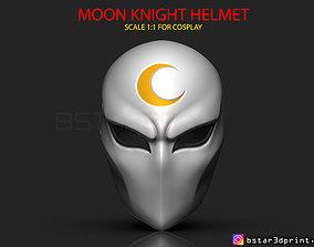 Moon Knight Mask - Marvel Comic helmet 3D printable model