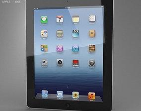 Apple The new iPad WiFi iPad 3 3D asset