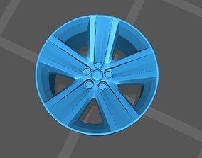 3D printable model 1 64 scale VW Polo OEM Wheels